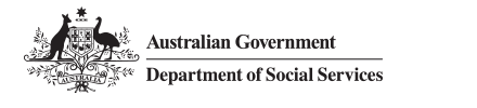 Logo - Australian Government Department of Social Services