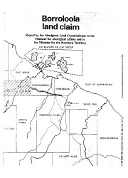 Borroloola Land Claim cover image