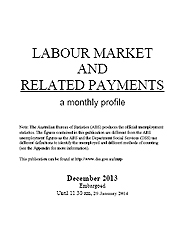 Labour Market and related Payments December 2013 Page One