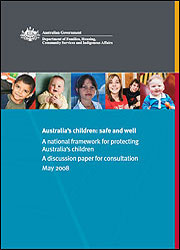 Australia's children: safe and well
