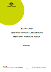 Document Cover image for BasicsCard Merchant Approval Framework