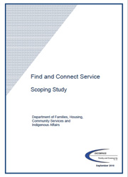 Find and Connect Scoping Study