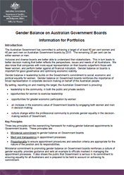 Gender Balance Info Cover Image