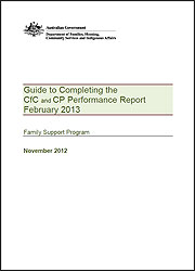Guide to Completing the Performance Report Feb 2013
