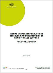 schedule 4 policy framework