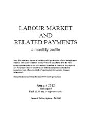 Labour Market and Related Payments August 2012 cover image