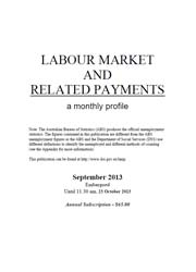 Labour Market and Related Payments September 2013 cover image