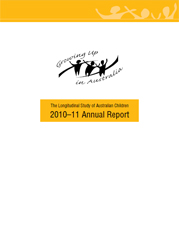 cover image for the LSAC Annual Report - 2010-11