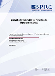 Evaluation Framework for New Income Management (NIM)