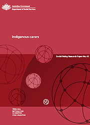 Number 45 - Indigenous carers Page One