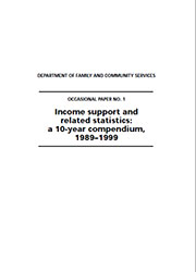 Number 1 Income support and related statistics cover image