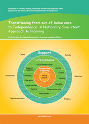 Transitioning from out-of-home care to Independence: A Nationally Consistent Approach to Planning