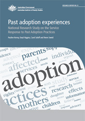 Past Adoption Experiences Report Cover image