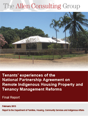 Cover image for the Property and Tenancy Management Report