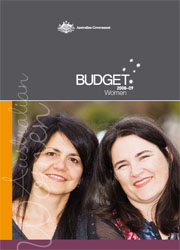 Women's Budget Statement 2008-09