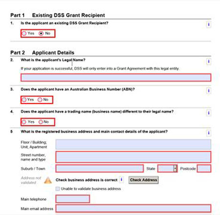 Grant Report Form The Status Of The Report In Question Can Be Seen
