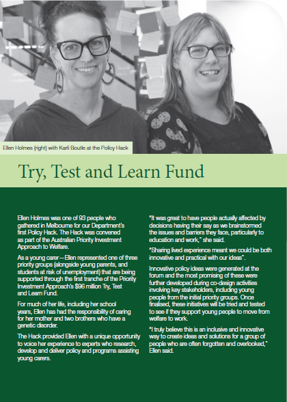 Try, Test and Learn Fund cover image