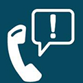 about the helpline icon