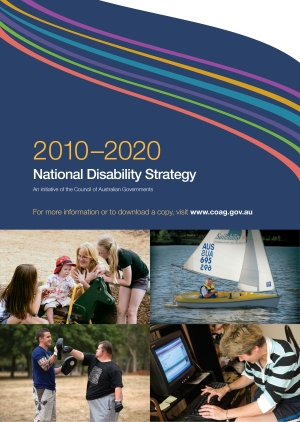 National Disability Strategy poster 2010-2020