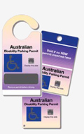Australian Disability Parking Permit images