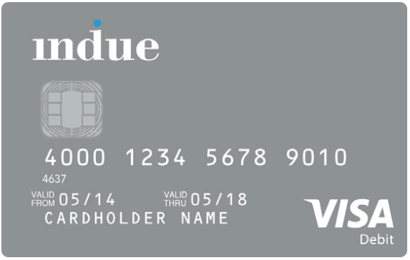 Cashless Debit Card sample