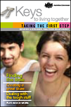 Keys to Living Together - Taking the first step