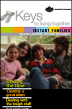 Keys to Living Together - Instant families