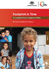 Cover of a publication called 'Footprints in Time Key Summary Report from Wave 3'