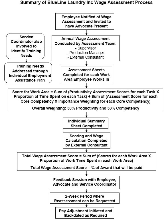 Analysis of Wage Assessment Tools used by Business Services