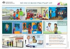 Amharic translated Family Safety Pack documents