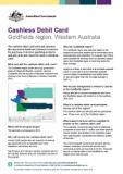Cashless Debit Card - Goldfields region, Western Australia