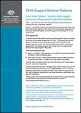 Fact sheet Sixteen: Simpler child support processes when parents get back together cover image