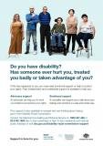 General Counselling and Advocacy Support A3 poster cover