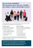 General Counselling and Advocacy Support fact sheet cover