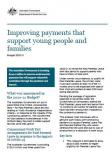 Improving payments that support young people and families