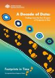 Cover of A Decade of Data: Findings from the first 10 years of Footprints in Time, 2020