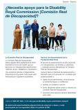 Do you need support for the Disability Royal Commission cover image