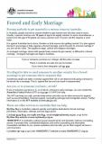 Forced and Early Marriage cover image