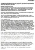 Development of Second Action Plan under the National Plan to Reduce Violence against Women and Their Children 2010-2022 Page One