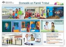 (Sierra Leone Krio) translated Family Safety Pack documents cover image