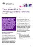 Third Action Plan for Protecting Australia's Children