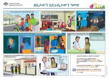 (Tigrinya) translated Family Safety Pack documents cover image