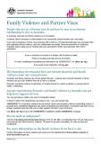 Family Violence and Partner Visas cover image