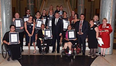 2014 National Disability Awards winners