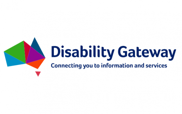 Disability Gateway logo and phone number: 1800 643 787