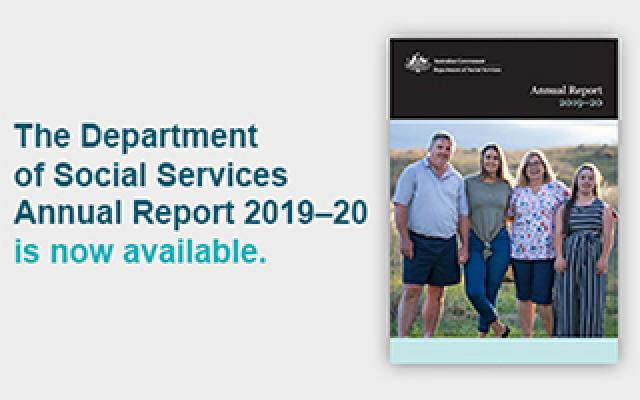 The department's Annual Report 2019–20 is now available online