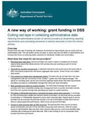 Cutting red tape in collecting administrative data cover image