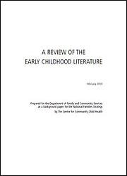 A Review of Early Childhood Literature