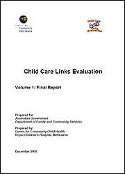 Child Care Links Evaluation