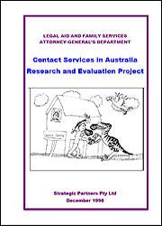 Contact Services in Australia Research and Evaluation Project